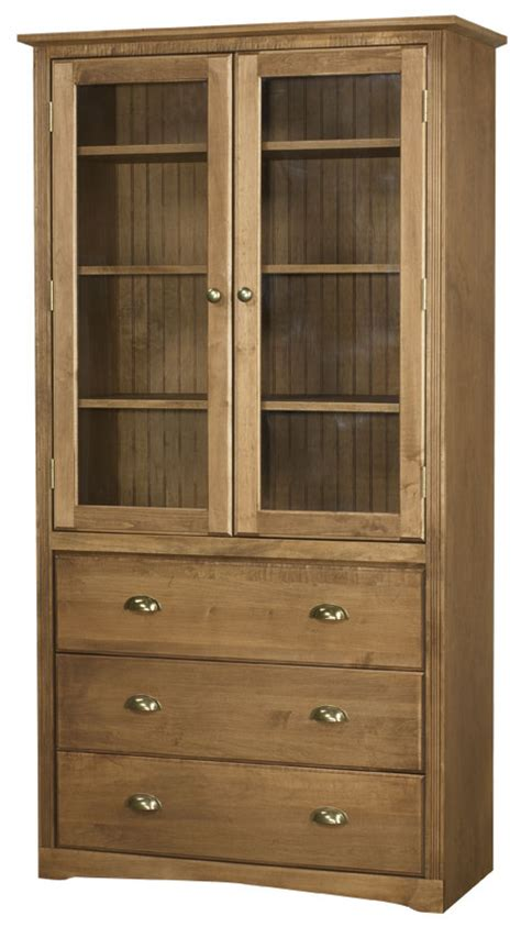 bookcase with doors and drawers arthur w brown bookcase door and drawer options