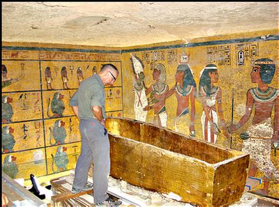 Ancient Egyptian Wall Murals case study preserving king tut s tomb campbell update