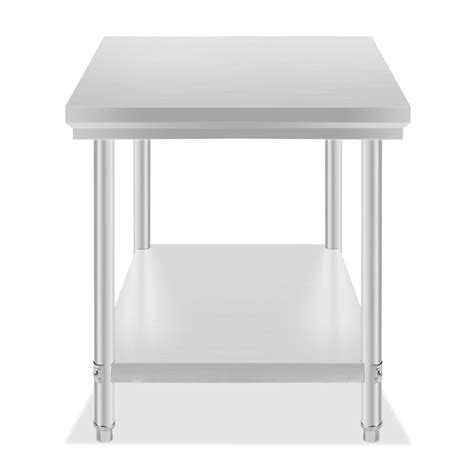 stainless steel kitchen prep table vevor new commercial kitchen stainless steel food work