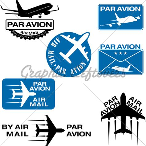air mail rubber st par avion rubber st 183 gl stock images