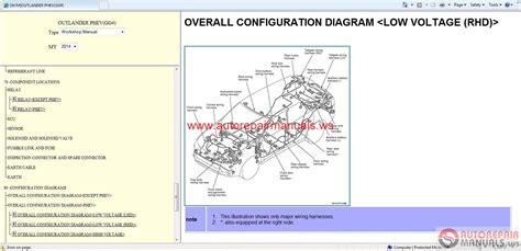 car repair manuals online free 2004 mitsubishi outlander electronic valve timing auto repair manuals mitsubishi outlander 2014 wsm