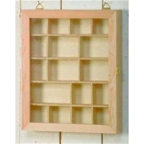 decoupage box frames wooden glass fronted shadow display box with compartments