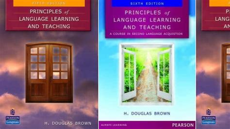principles of language learning and teaching 6th edition principles of language learning and teaching by h douglas