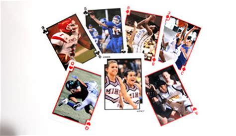 make a deck of cards sports cards create a deck of custom photo