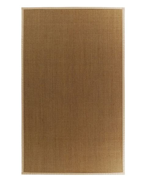 area rugs home depot 5x8 lanart rug sisal 5x8 bound honey 37 the home