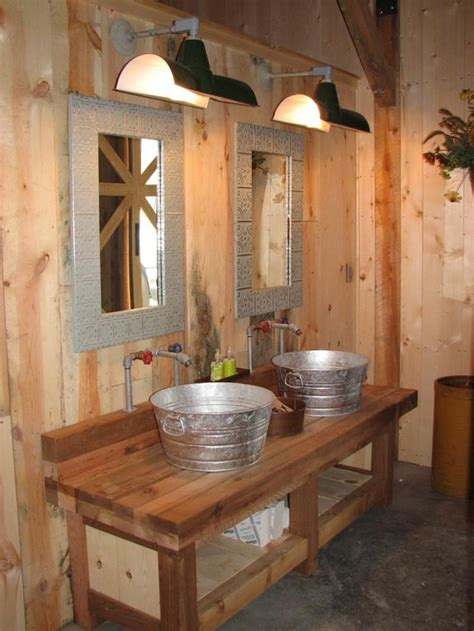 Rustic Themed Bathroom by 25 Best Ideas About Barn Bathroom On Rustic