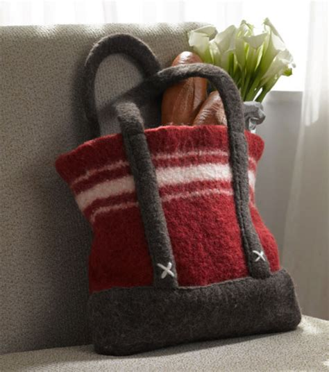 how to knit a bag on a loom loom knit felted bag at joann