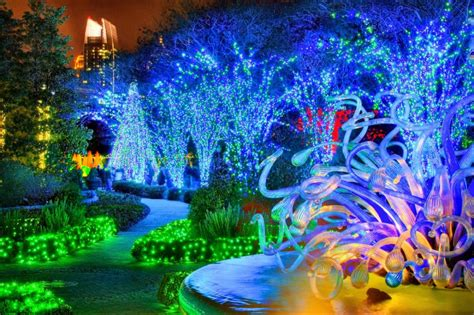 botanical garden of lights atlanta botanical gardens transformed into winter