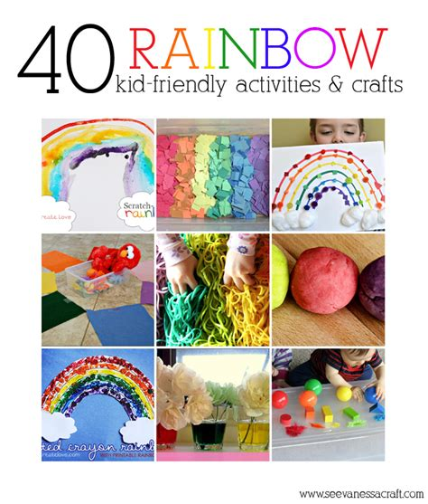 crafts and activities for diy roundup 40 kid friendly rainbow activities crafts