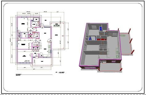 using autocad to draw house plans autocad house plan tutorial admirable 229 1360704643 how