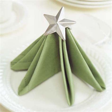 servietten falten weihnachtsbaum tree napkin folding idea pictures photos and