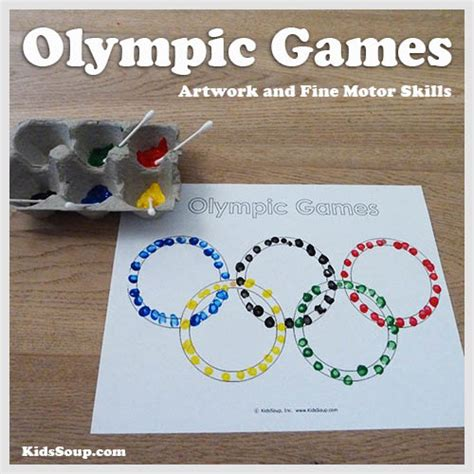 craft activities free olympic activities and printables kidssoup