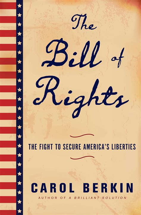 bill of rights picture book the bill of rights book by carol berkin official
