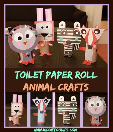toilet paper roll crafts animals toilet paper roll animals easy paper crafts for