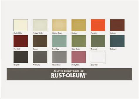 paint colors rustoleum rust oleum colour chart paint colors