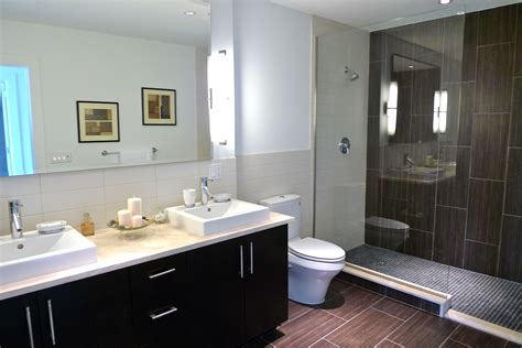 Spa Bathroom by Aventine Condos Building Profile In Edgwater Nj Featuring