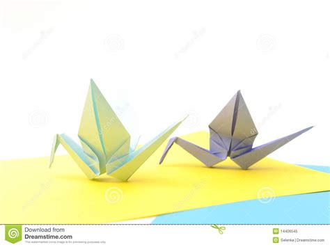 origami article origami birds child paper articles royalty free stock