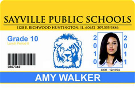 how to make school id card school id cards made with teslin paper
