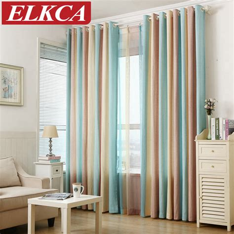 modern bedroom curtains striped printed window curtains for the bedroom fancy