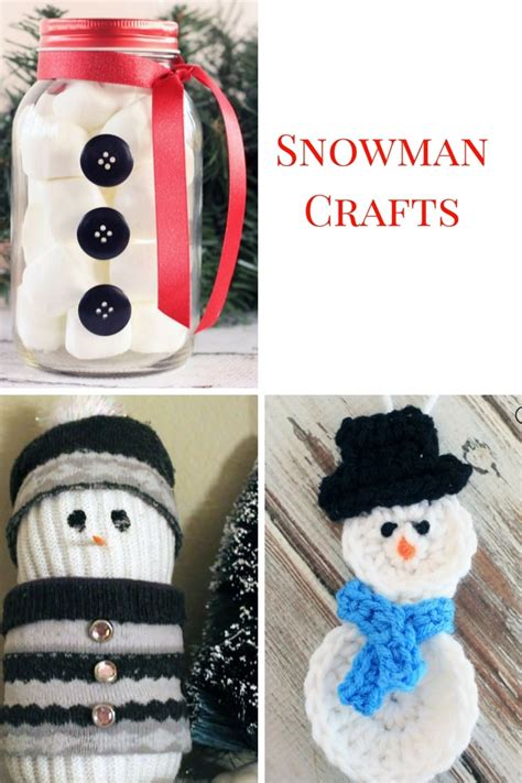 snowman crafts for 20 snowman crafts
