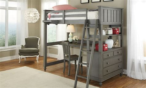 loft beds with desks lakehouse loft bed desk haynes furniture