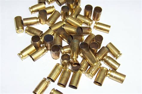 with used bullet casings brass 40 caliber bullet shell casings 50 pieces 40 cal