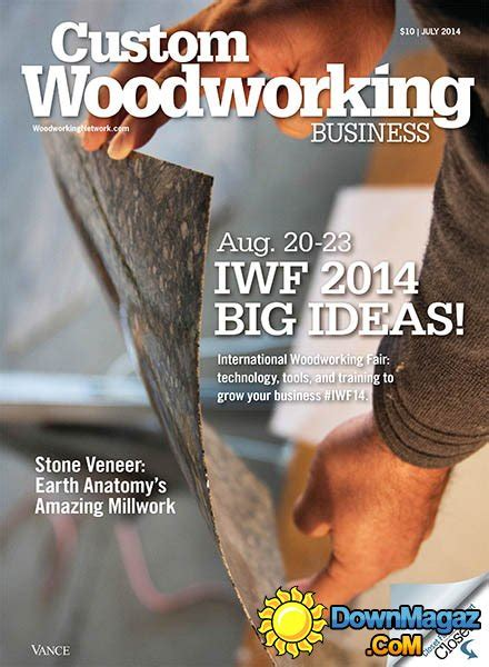 Custom Woodworking Business July 2014 187 Pdf