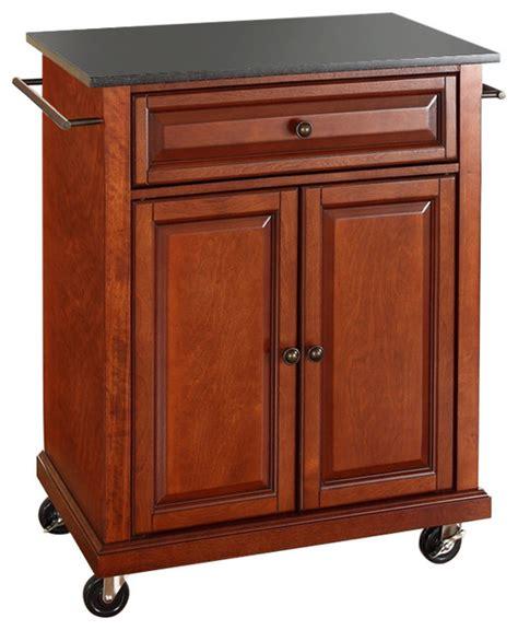 cherry kitchen island cart cherry portable kitchen island cart with granite top and locking wheels kitchen islands and