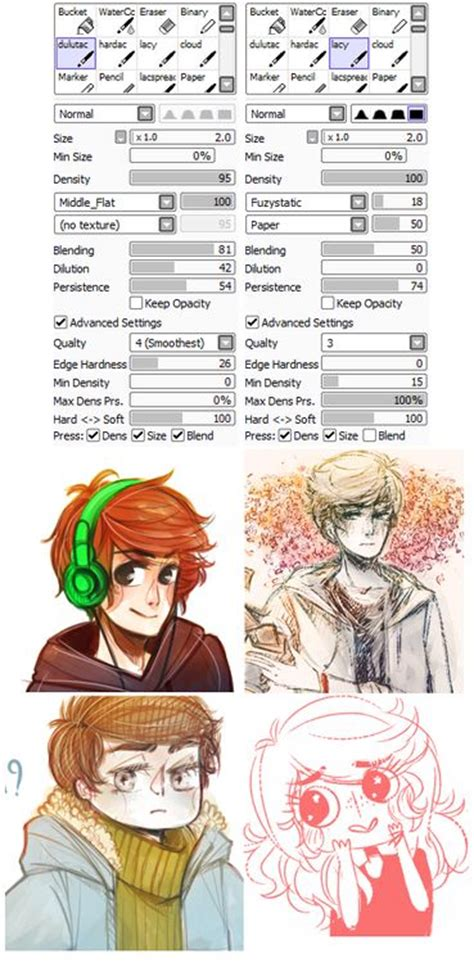 lineless tutorial paint tool sai 57 best images about sai brushes on