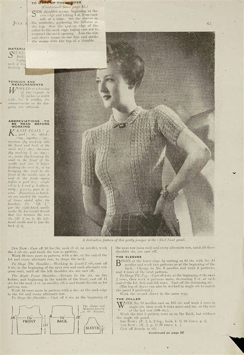 1940 knitting patterns free 1940s knitting patterns and albert museum