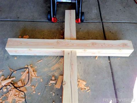 wood cross picture frame plans easy craft ideas