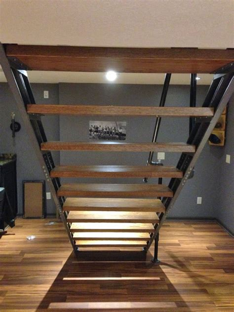 how to build basement stairs basement stair stringers by fast stairs
