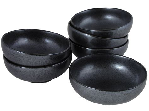 Black Kitchen Canisters Sets black alloy collection sauce dipping japanese ceramic