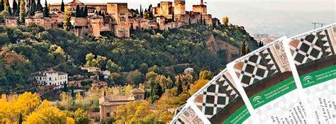 entradas visita alhambra horario de la alhambra y el generalife de granada
