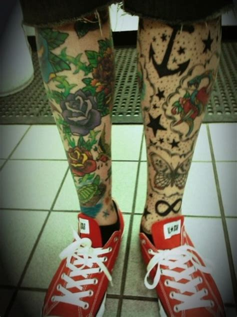 leg sleeve tattoos design tattoo ideas mag