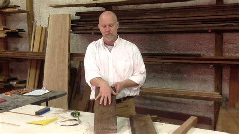 woodworking apprentice episode 3 milling the apprenticeship woodworking