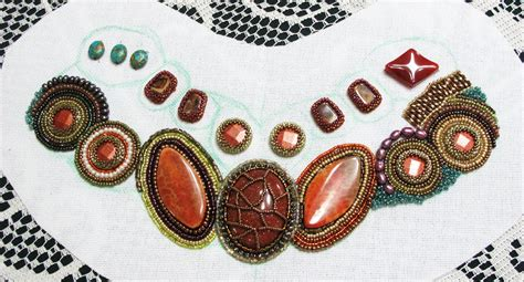 bead embroidery patterns yam beadwork embroidery collar