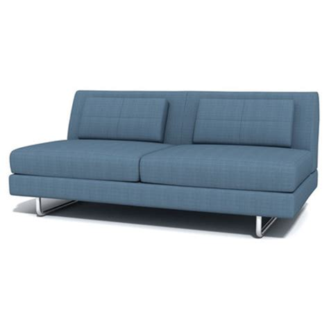 modern armless sofa sofas and couches wayfair buy loveseats and leather