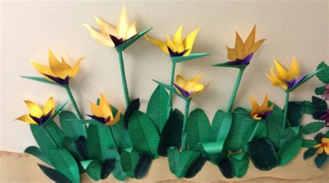 origami bird of paradise flower 24 best bulletin boards images on