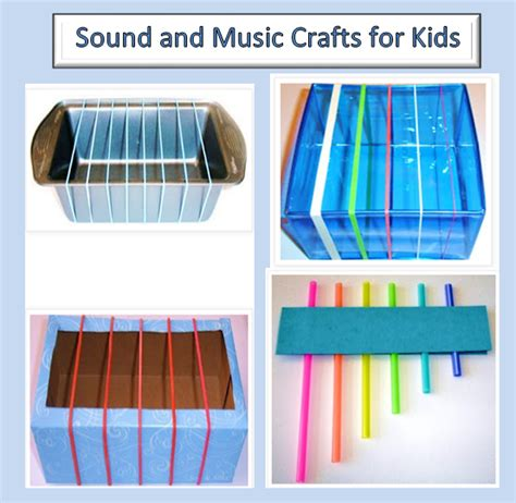 craft ideas for musical instruments learning ideas grades k 8 sound and craft