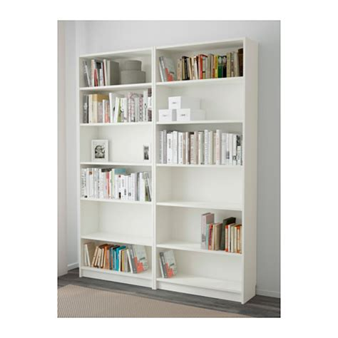 ikea white bookshelves billy bookcase white 160x202x28 cm ikea