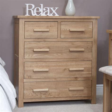 bedroom chest furniture eton solid modern oak furniture 2 3 bedroom chest of