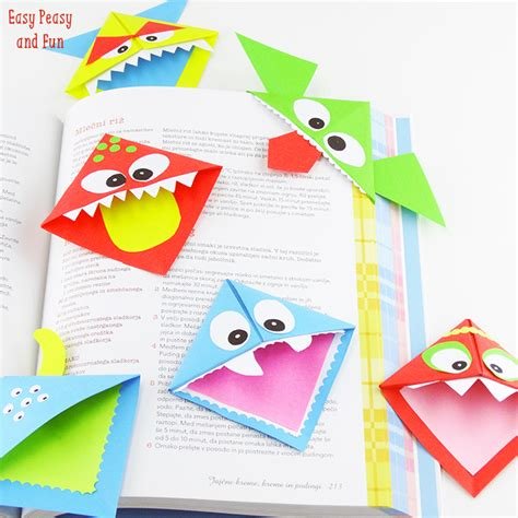 simple origami bookmark origami for coins corner bookmarks and