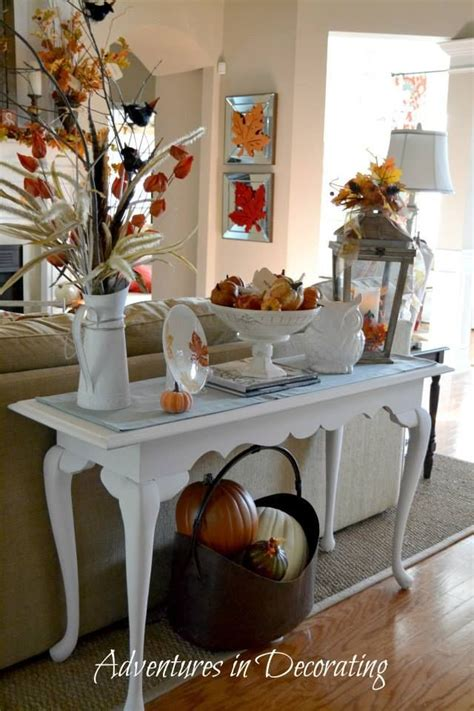 sofa table decorating ideas pictures sofa table decor fall sofa tables and