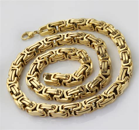 bracelet chains for jewelry wholesale retail 8 quot 40 quot stainless steel gold plated