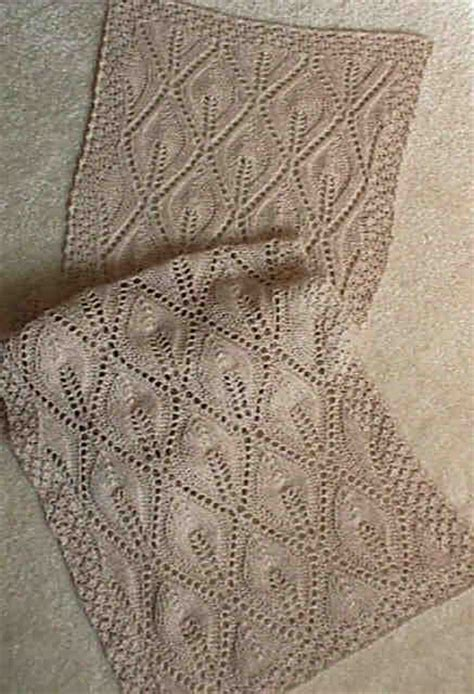 scarf lace knitting patterns lace scarf knitting pattern image search results
