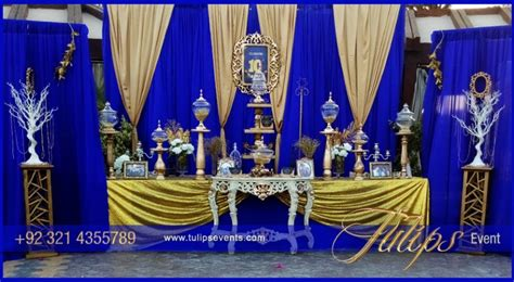 blue and gold decorations royal wedding themed decorations royal wedding