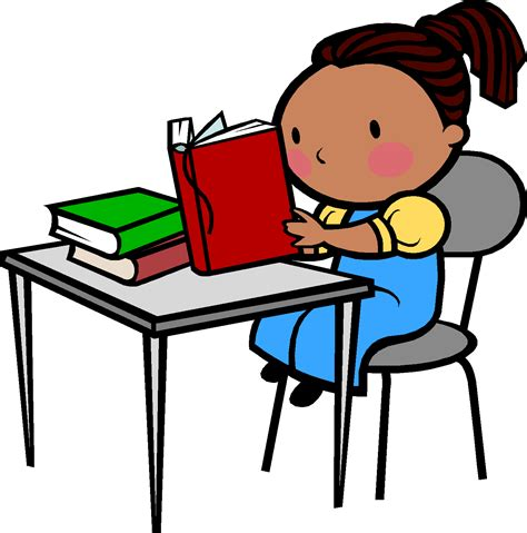 student in desk clipart student reading at desk clipart clipartsgram