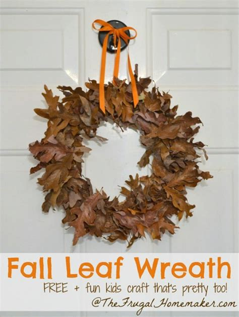 kid crafts for fall 15 fabulous fall leaf crafts for diy crafts