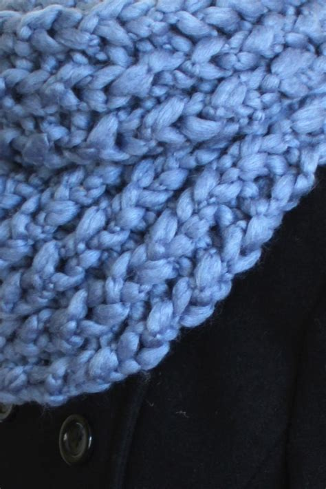 local knit local color nyc chunky knit scarf from new york city